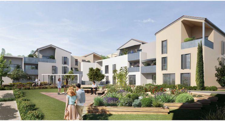 Photo n°2 du Résidence « Les Jardins D'Agathe » programme immobilier neuf en Loi Pinel à Meyzieu