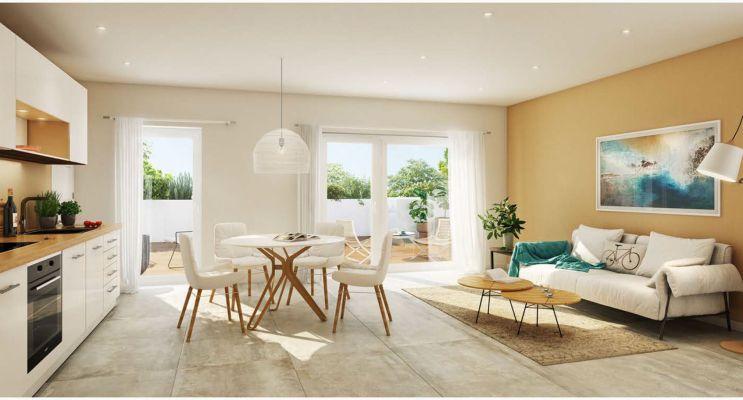 Photo n°3 du Résidence « Les Jardins D'Agathe » programme immobilier neuf en Loi Pinel à Meyzieu