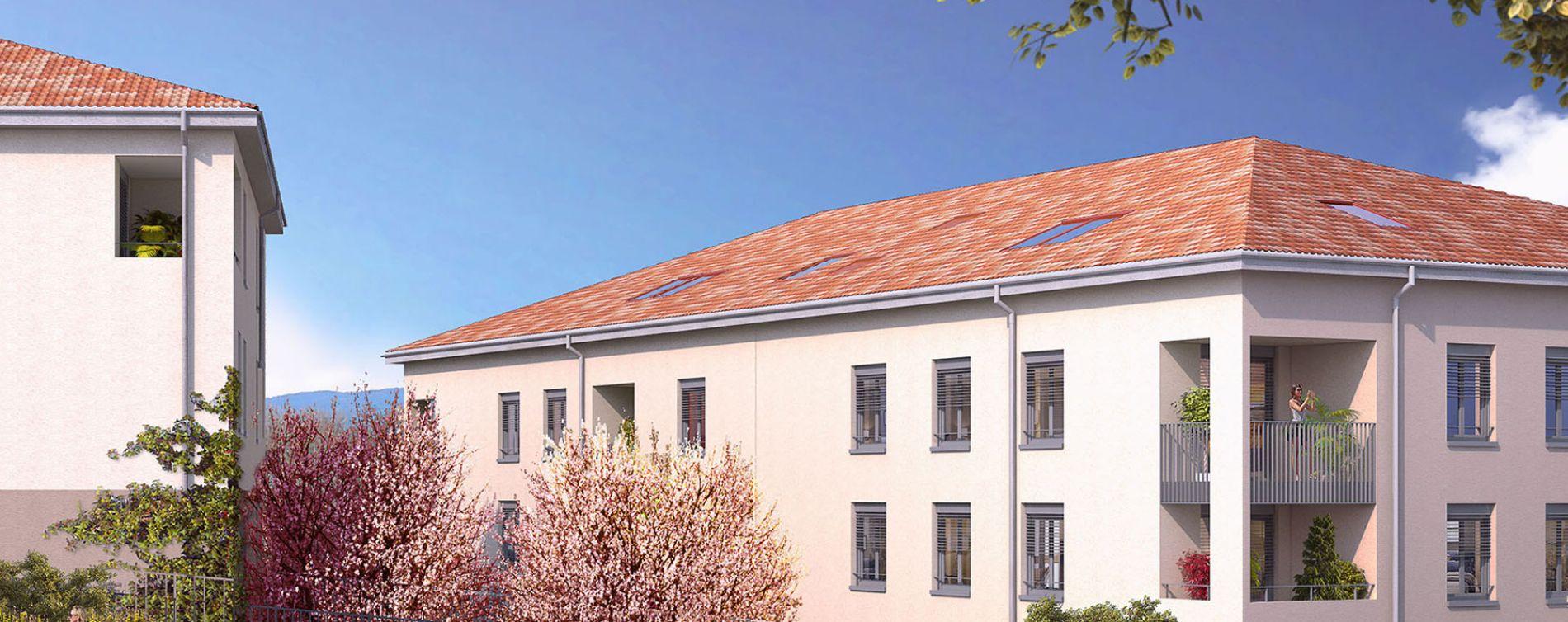 Neuville-sur-Saône : programme immobilier neuve « Les Oréades » en Loi Pinel (2)
