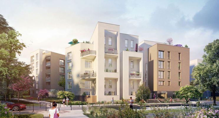 Rillieux-la-Pape programme immobilier neuf « Open » en Loi Pinel