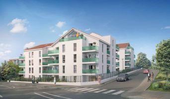 Photo n°1 du Résidence « Le Marius » programme immobilier neuf en Loi Pinel à Saint-Fons