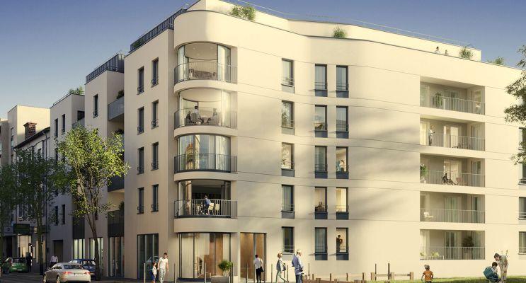 Saint-Fons programme immobilier neuf « Luz » en Loi Pinel