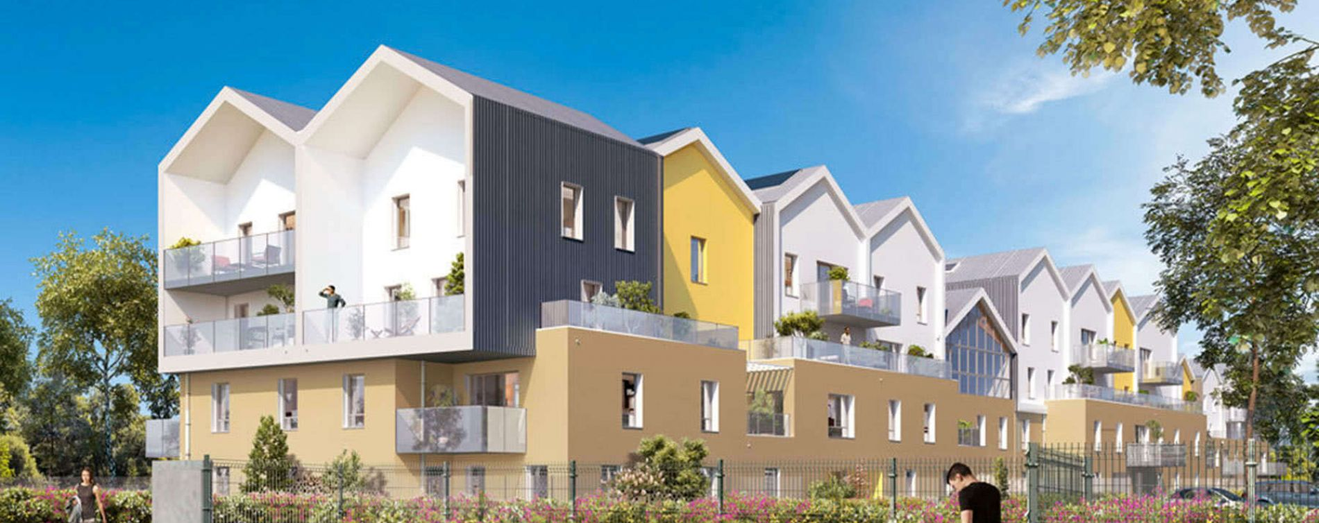 Saint-Priest : programme immobilier neuve « Factory Link »