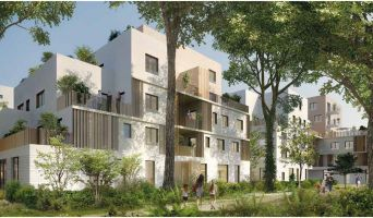 Résidence « Les Dryades - Kanji » programme immobilier neuf en Loi Pinel à Saint-Priest n°1
