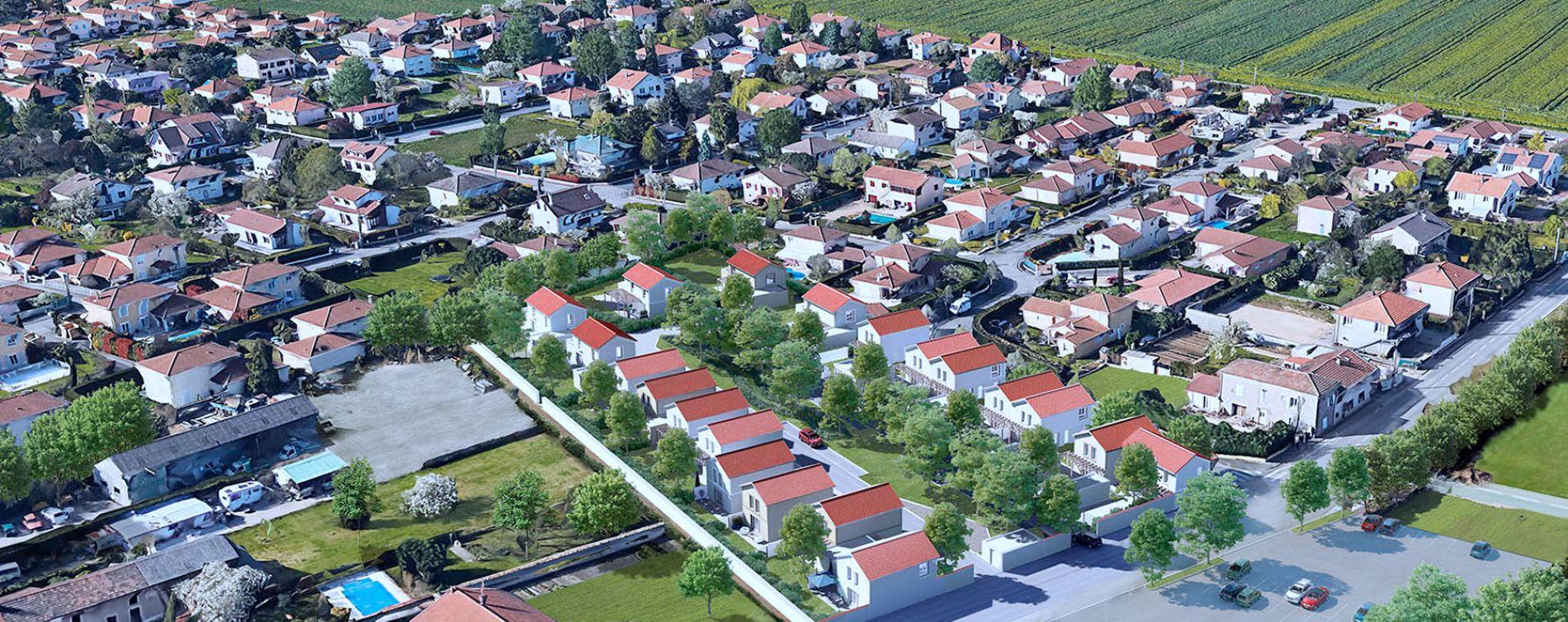 Saint-Priest : programme immobilier neuve « Programme immobilier n°215732 » (5)
