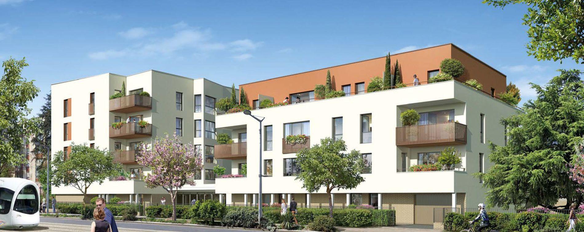 Saint-Priest : programme immobilier neuve « Pavillon Jaurès »