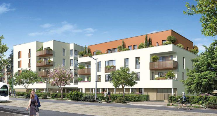 Photo du Résidence « Pavillon Jaurès » programme immobilier neuf en Loi Pinel à Saint-Priest