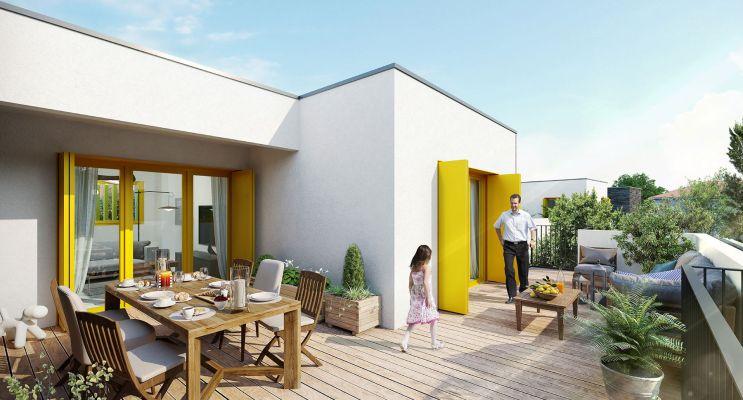 Photo du Résidence « Greenline » programme immobilier neuf en Loi Pinel à Sainte-Foy-lès-Lyon