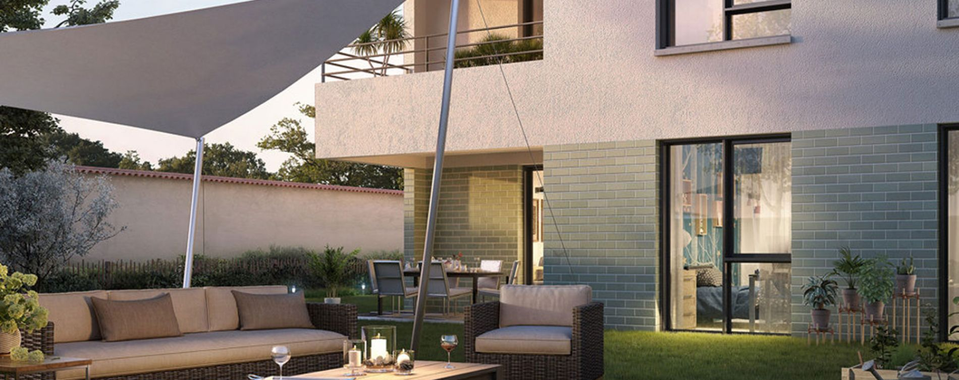 Tassin-la-Demi-Lune : programme immobilier neuve « Epure Tassin » en Loi Pinel (2)