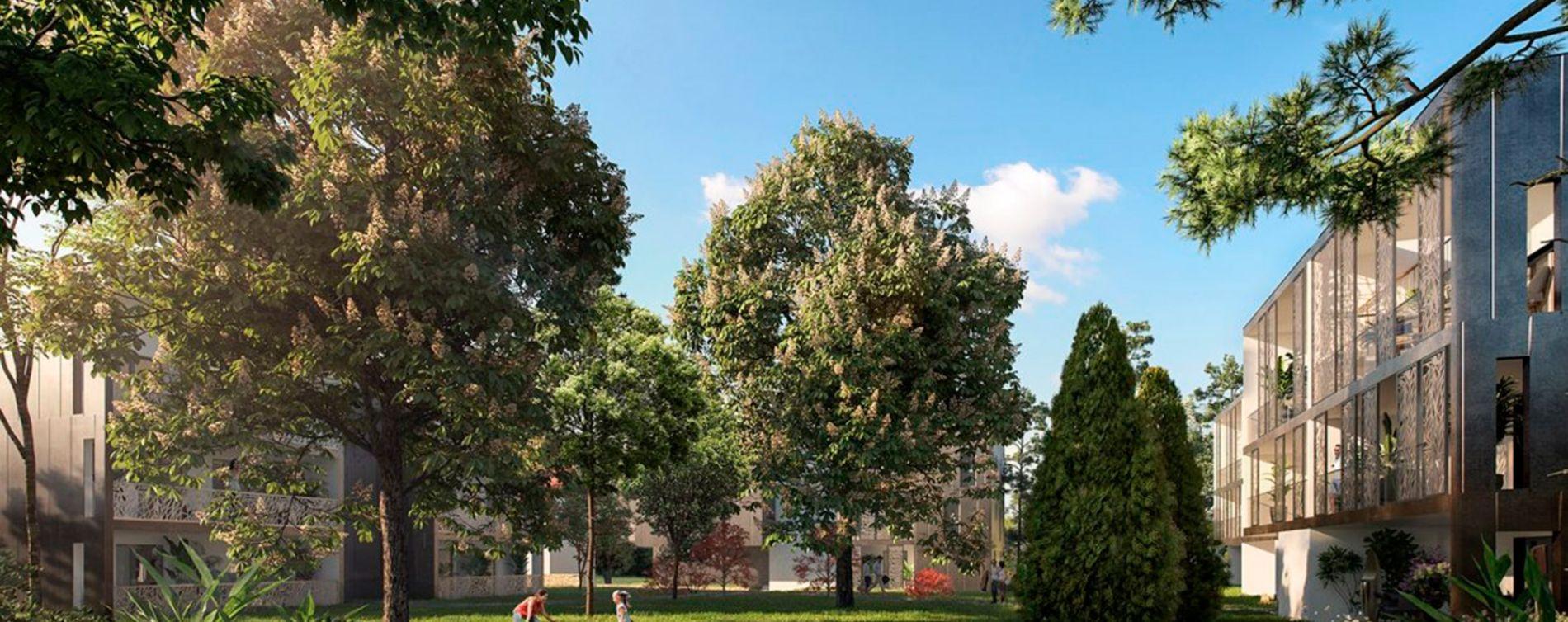 Tassin-la-Demi-Lune : programme immobilier neuve « Le Chant des Arbres » en Loi Pinel (2)