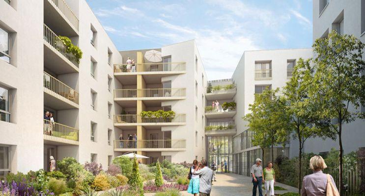 Résidence « Les Balcons De L'Horloge » programme immobilier neuf en Nue Propriété à Tassin-la-Demi-Lune n°1