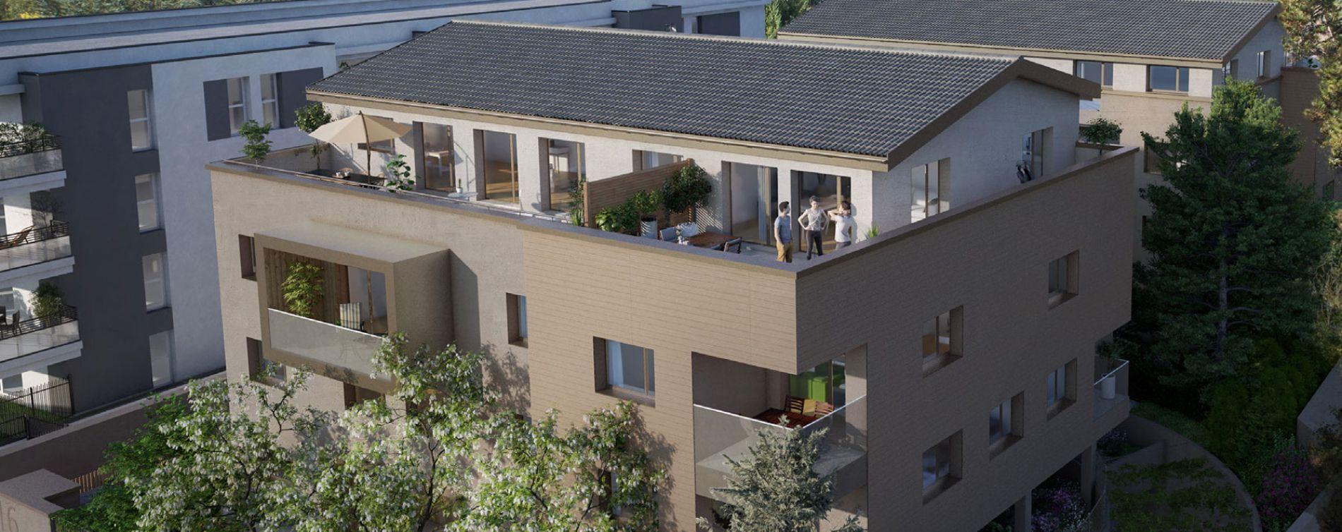 Tassin-la-Demi-Lune : programme immobilier neuve « XVI » en Loi Pinel