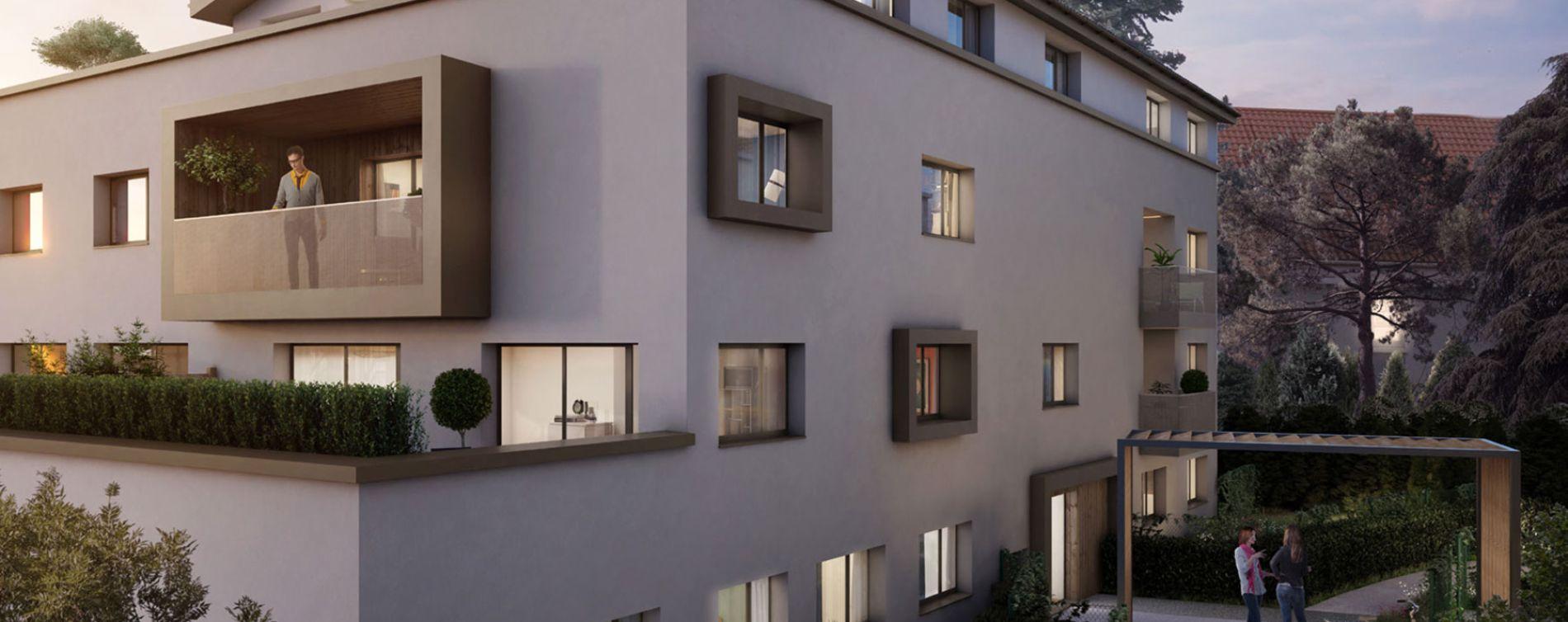 Tassin-la-Demi-Lune : programme immobilier neuve « XVI » en Loi Pinel (2)