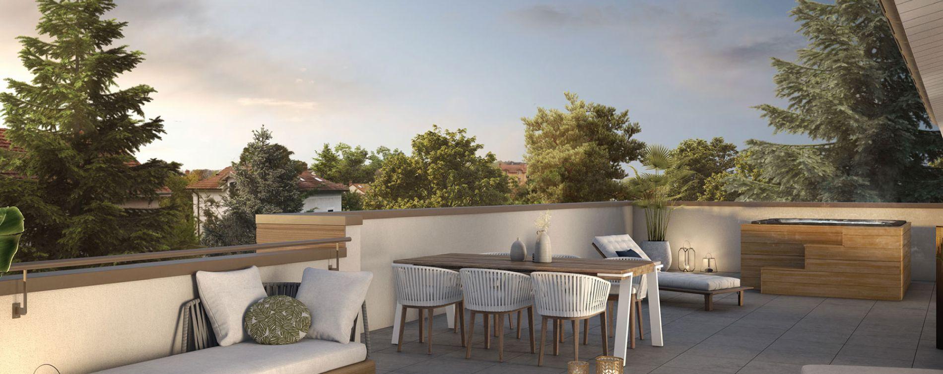 Tassin-la-Demi-Lune : programme immobilier neuve « XVI » en Loi Pinel (3)