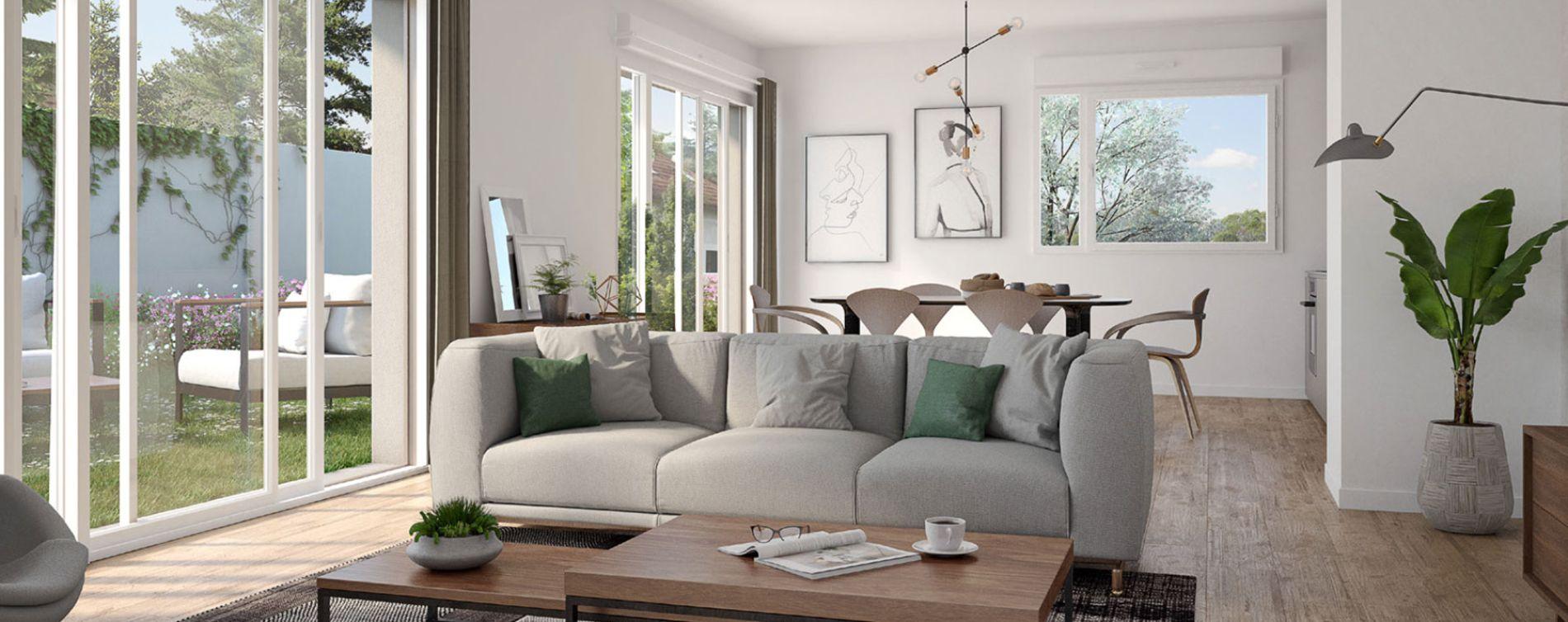 Tassin-la-Demi-Lune : programme immobilier neuve « XVI » en Loi Pinel (4)