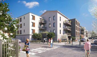 Vaulx-en-Velin : programme immobilier neuf « VO'lupté Village » en Loi Pinel