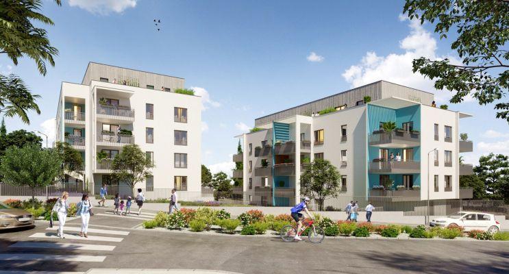 Vénissieux : programme immobilier neuf « Alfa » en Loi Pinel