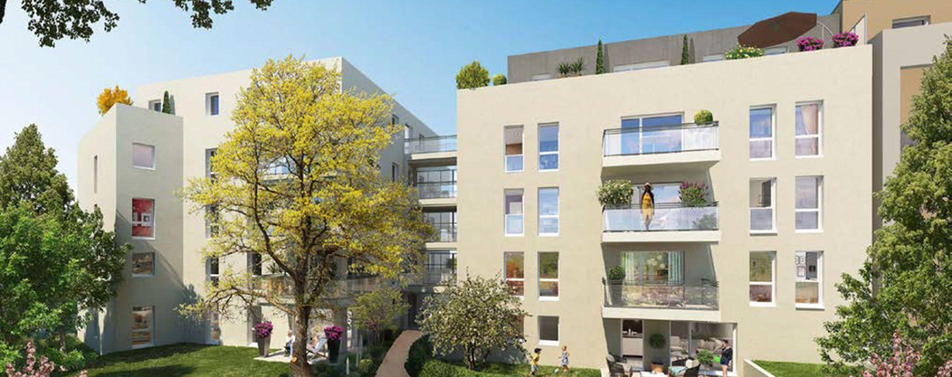 Vénissieux : programme immobilier neuve « Programme immobilier n°218321 » en Loi Pinel