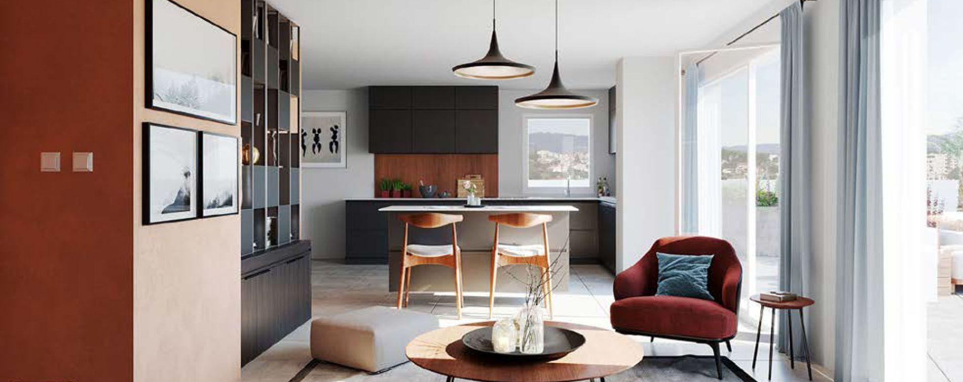 Vénissieux : programme immobilier neuve « Programme immobilier n°218321 » en Loi Pinel (2)