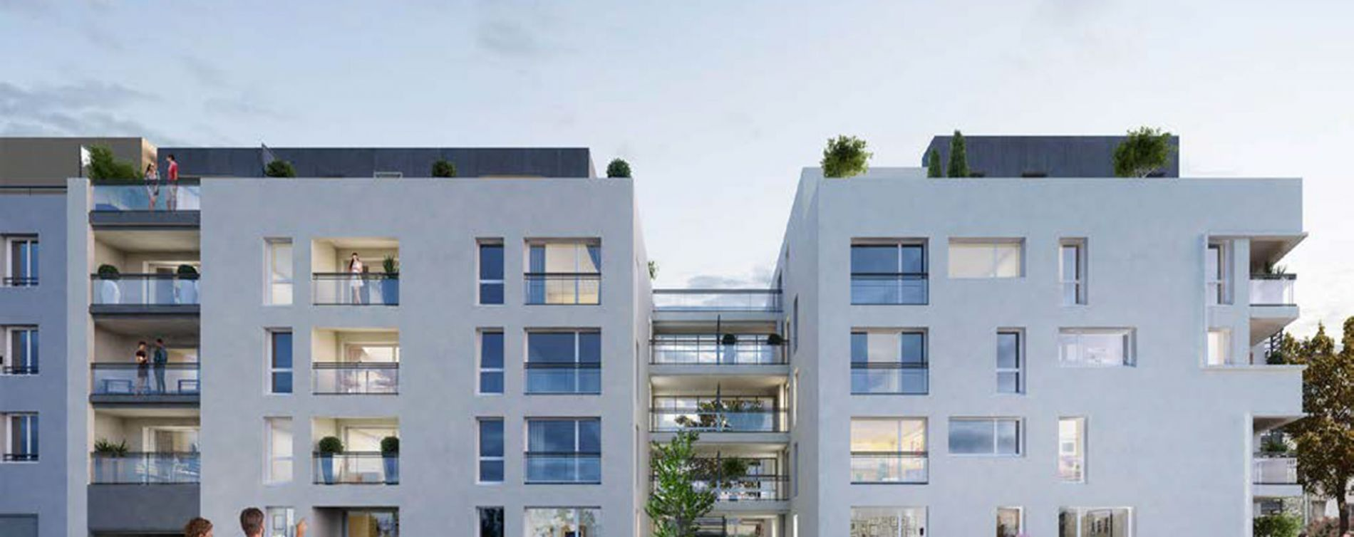 Vénissieux : programme immobilier neuve « Programme immobilier n°218321 » en Loi Pinel (3)