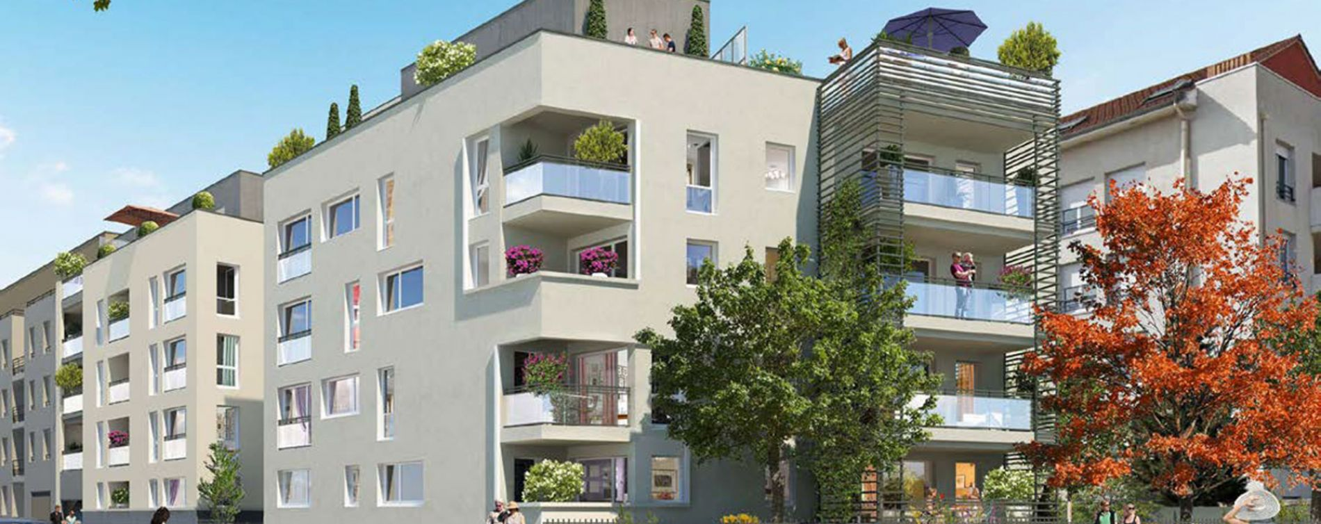 Vénissieux : programme immobilier neuve « Programme immobilier n°218321 » en Loi Pinel (4)
