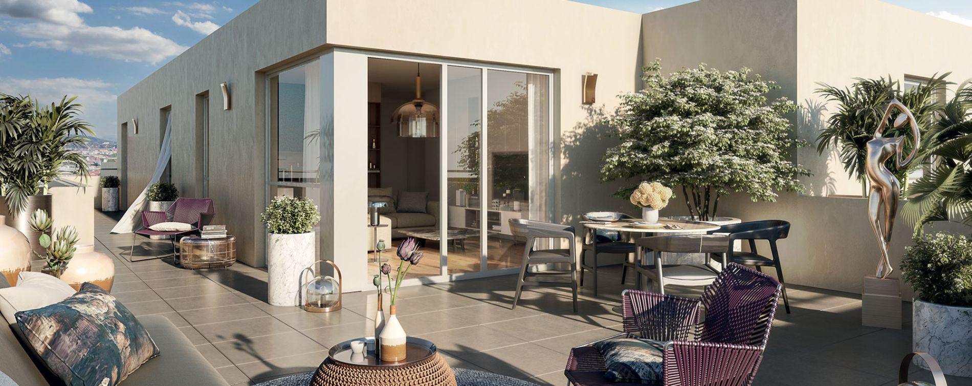Vénissieux : programme immobilier neuve « Eklose » (2)