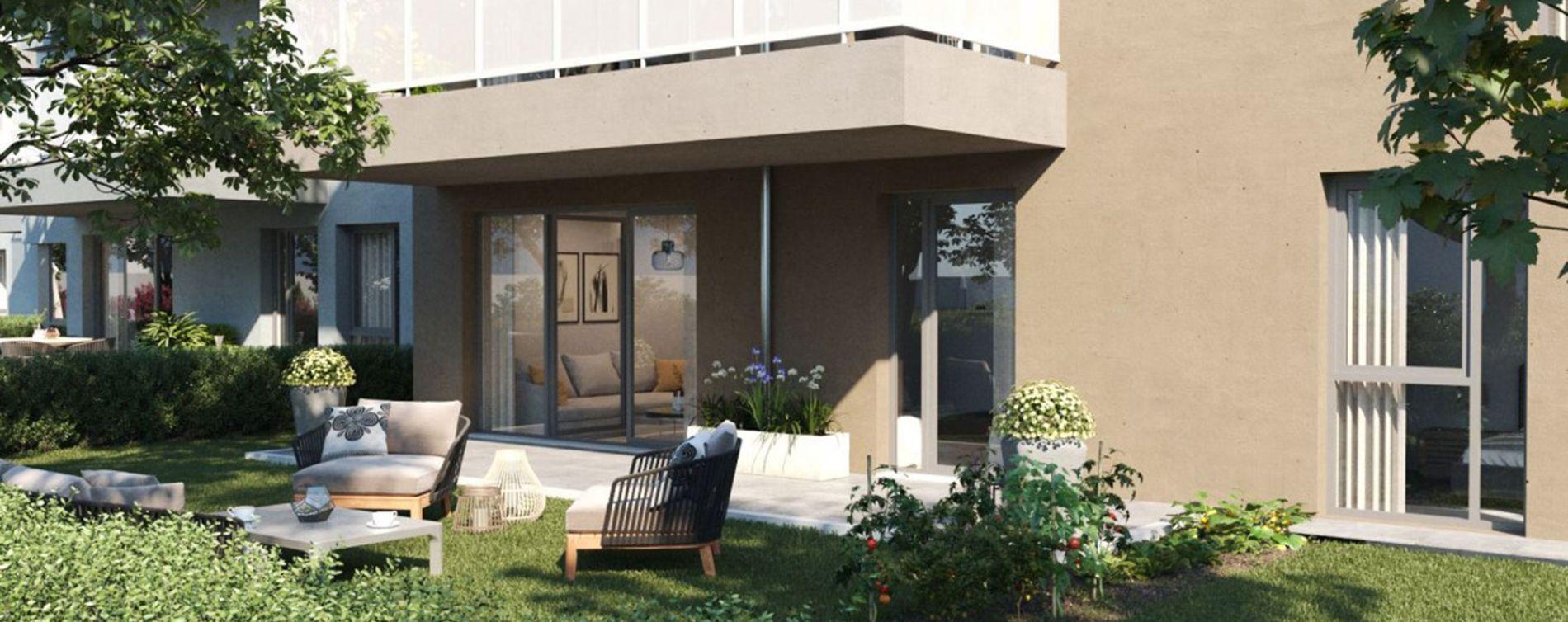 Vénissieux : programme immobilier neuve « Eklose » (4)
