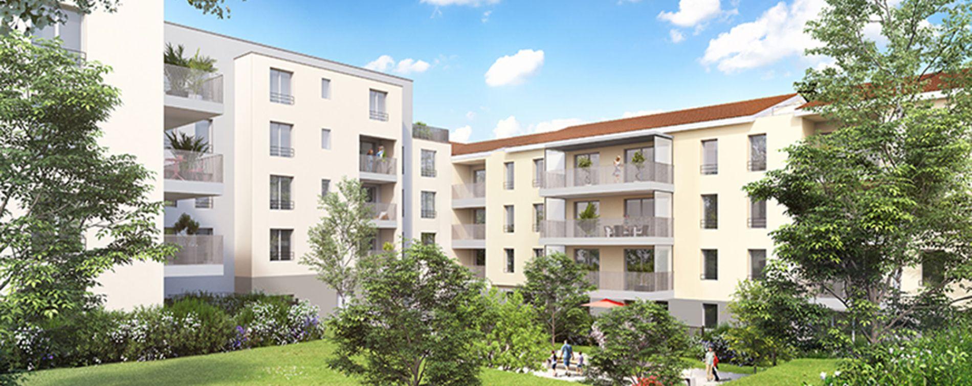 Vénissieux : programme immobilier neuve « Horizon » en Loi Pinel