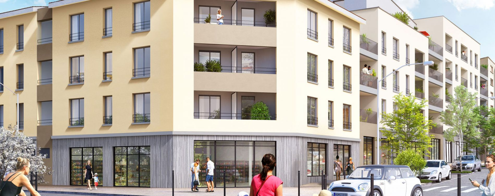 Vénissieux : programme immobilier neuve « Horizon » en Loi Pinel (2)