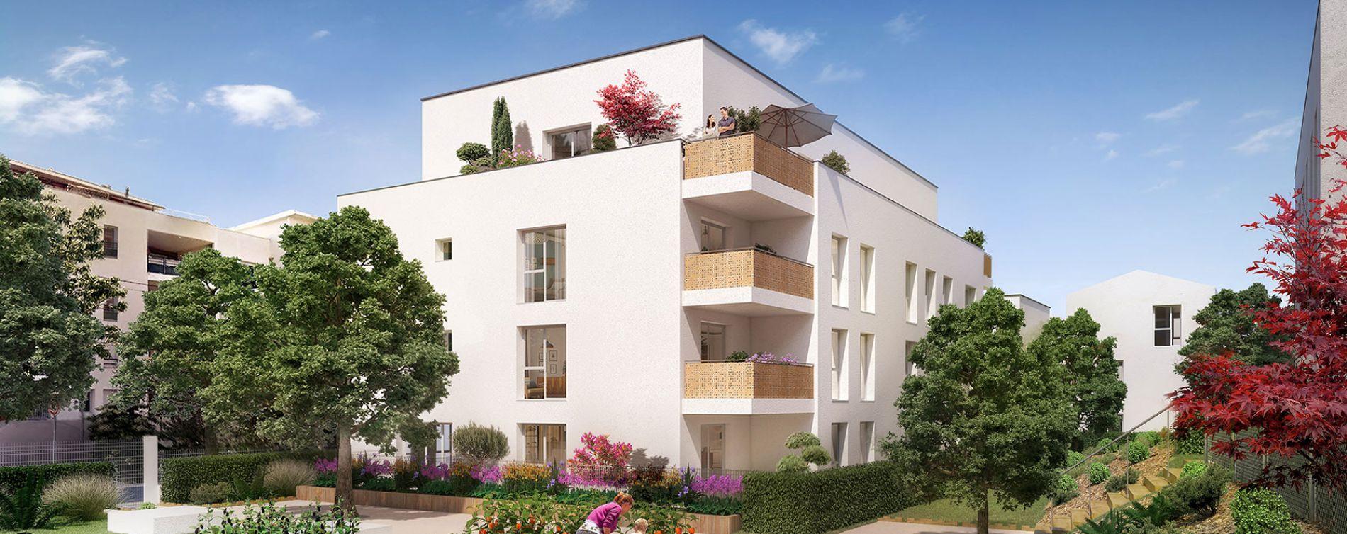 Vénissieux : programme immobilier neuve « Intervalles »