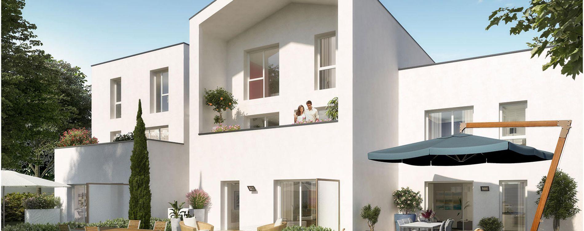 Vénissieux : programme immobilier neuve « Intervalles » (2)