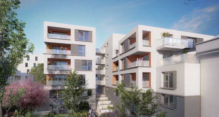 Vénissieux : programme immobilier neuf « Kubik Garden » en Loi Pinel