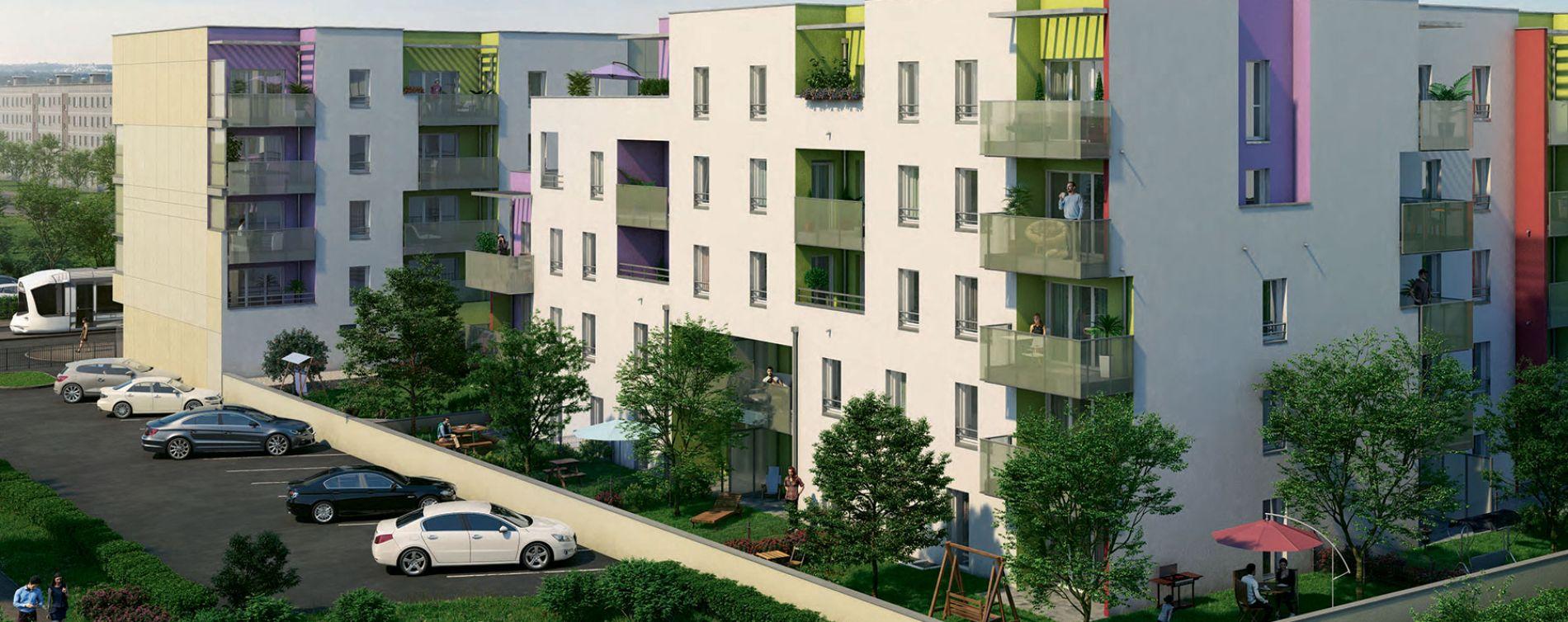 Vénissieux : programme immobilier neuve « Les Jardins de Lana »