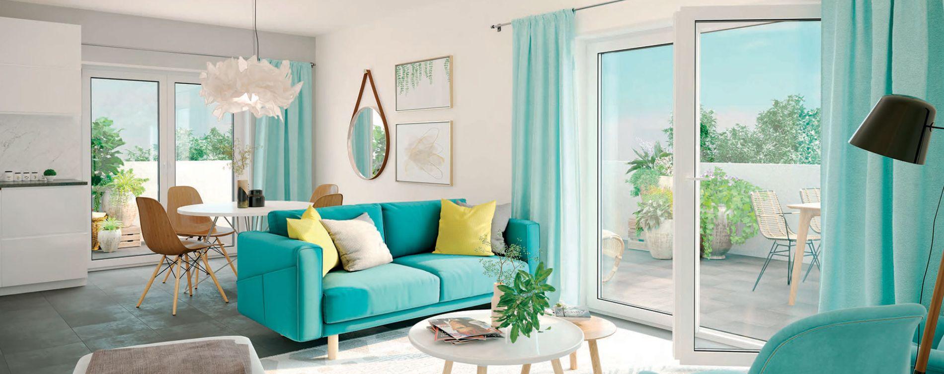 Vénissieux : programme immobilier neuve « Les Jardins de Lana » (3)