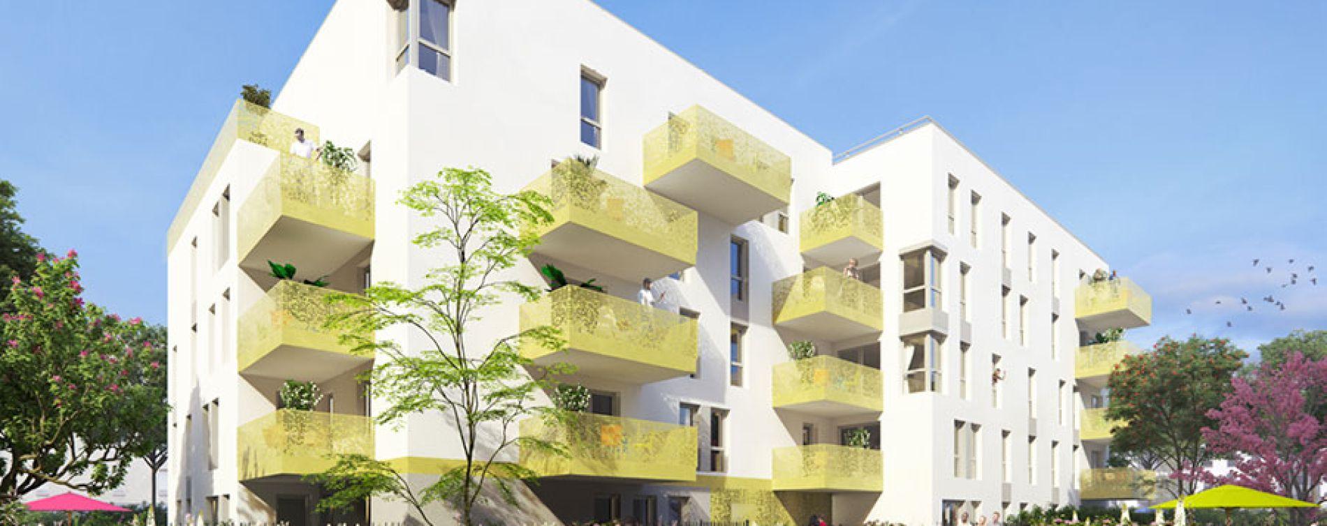 Vénissieux : programme immobilier neuve « Link It »