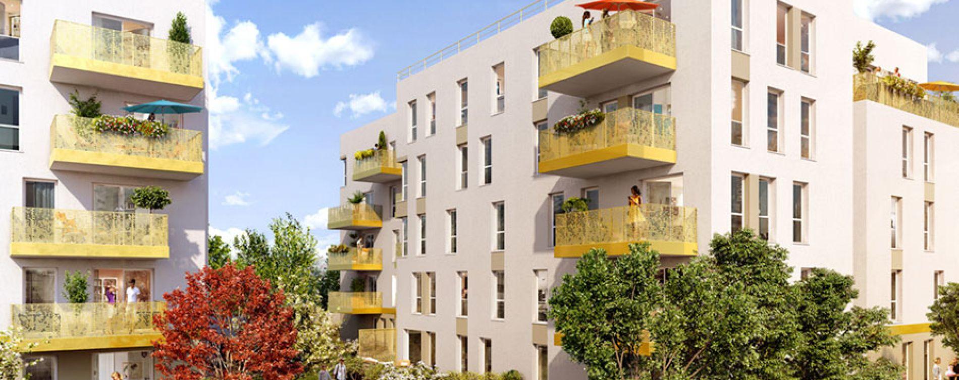 Vénissieux : programme immobilier neuve « Link It » (2)