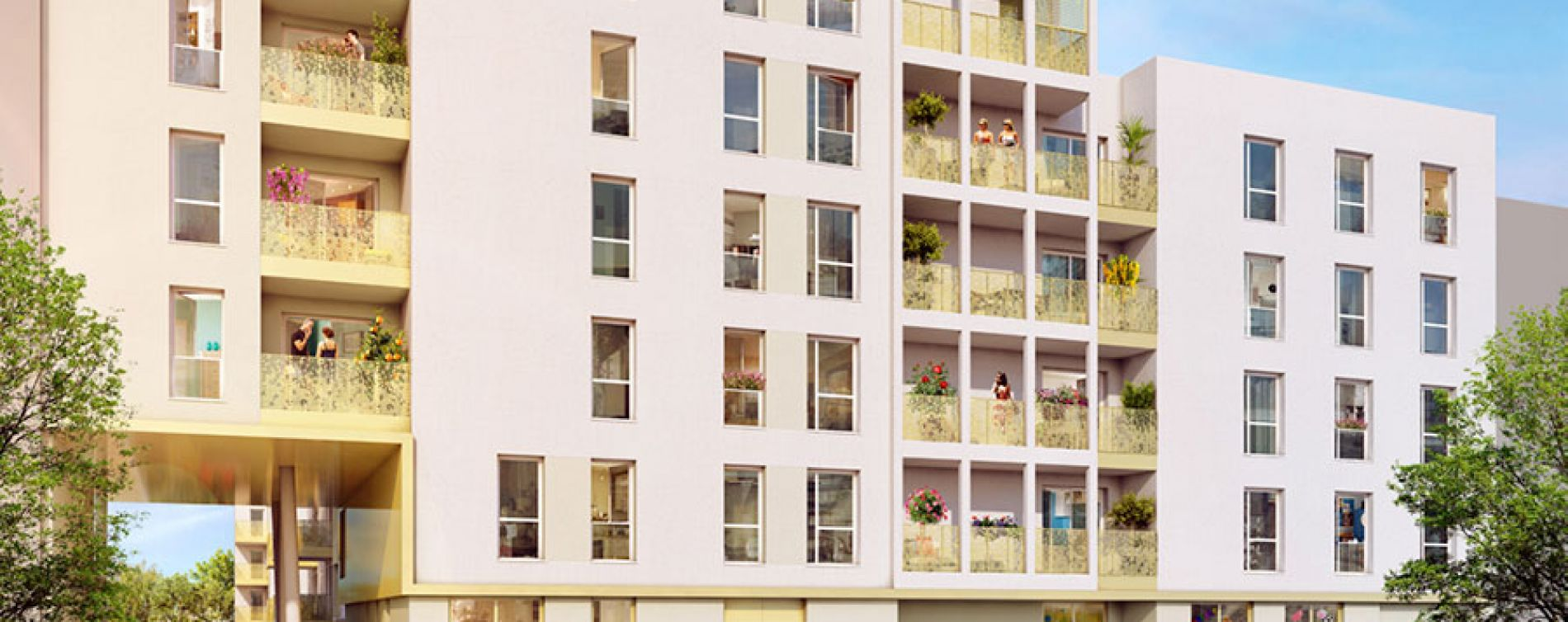 Vénissieux : programme immobilier neuve « Link It » (3)