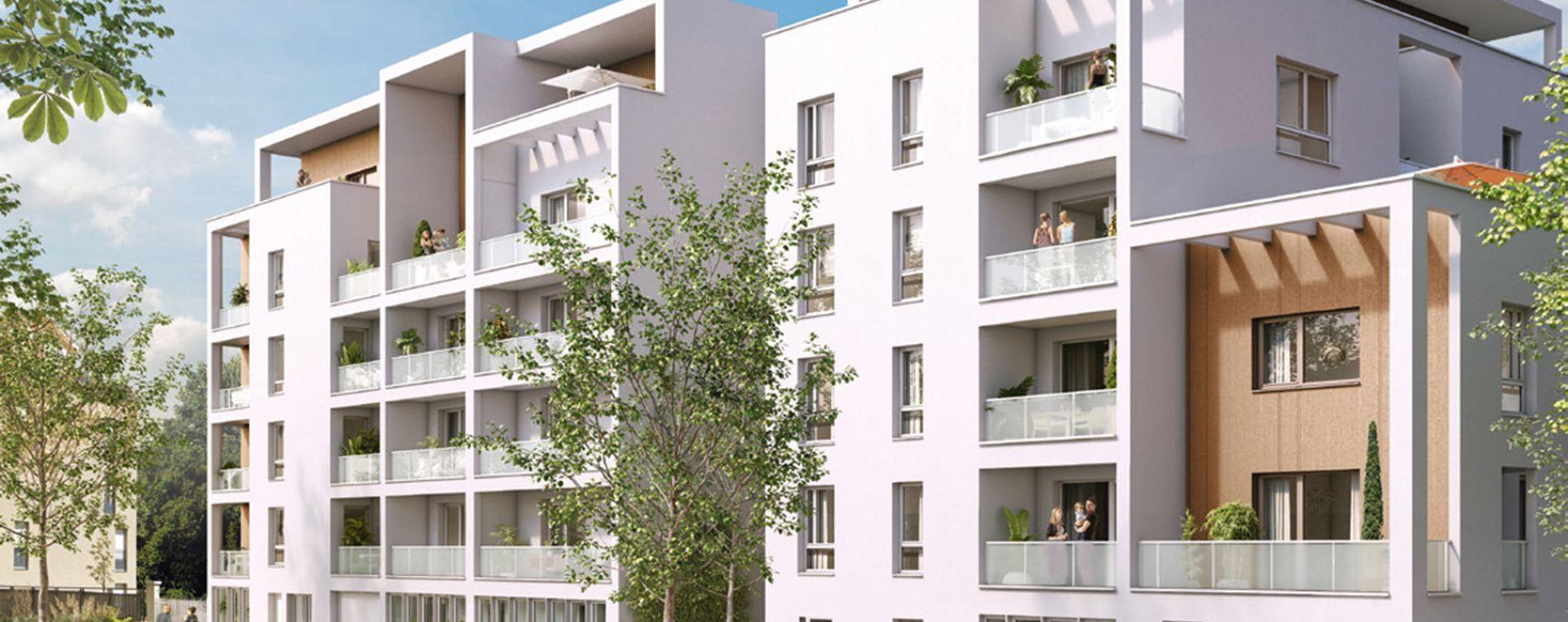 Vénissieux : programme immobilier neuve « Préambule »