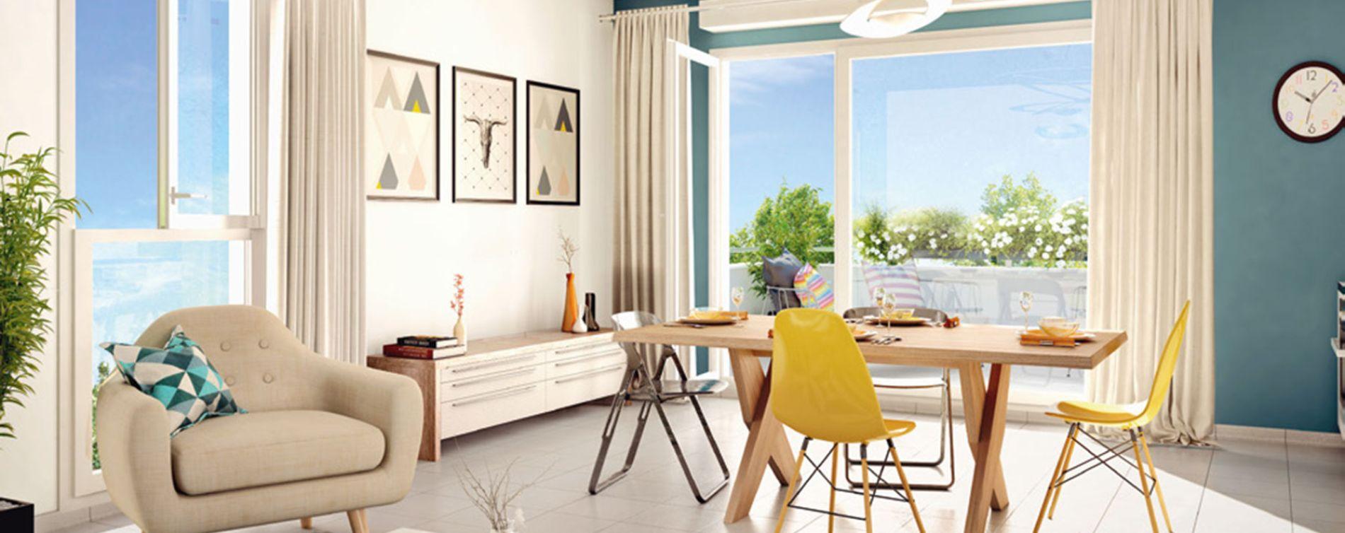 Vénissieux : programme immobilier neuve « Préambule » (2)