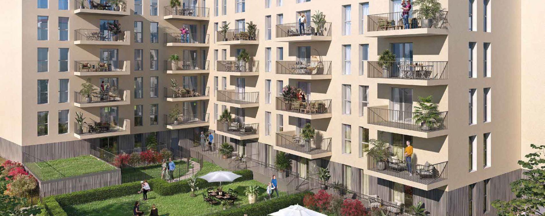 Résidence Jardin Ampère 2 à Villefranche-sur-Saône