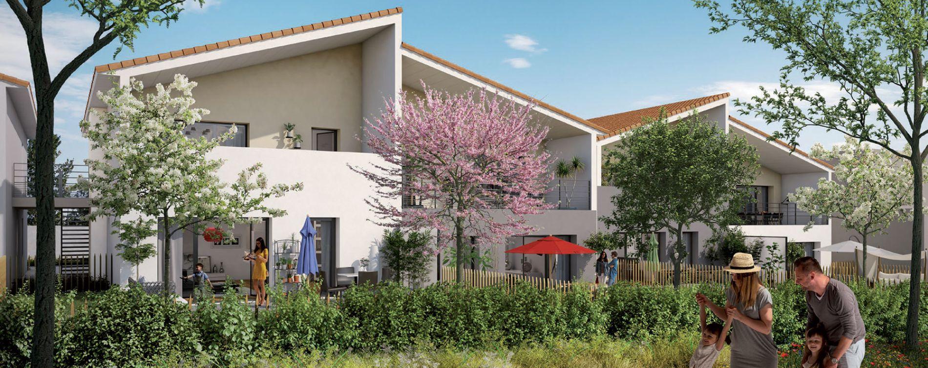 Villefranche-sur-Saône : programme immobilier neuve « Le Parc de la Ronze » en Loi Pinel