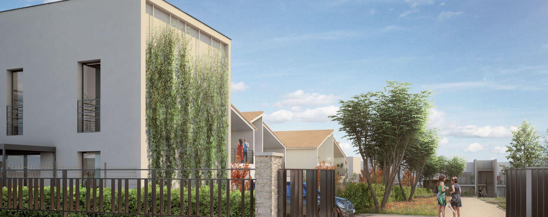Villefranche-sur-Saône : programme immobilier neuve « Le Parc de la Ronze » en Loi Pinel (2)