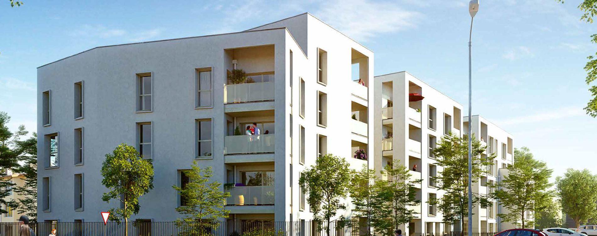 Villefranche-sur-Saône : programme immobilier neuve « Les Jardins d'Adam »