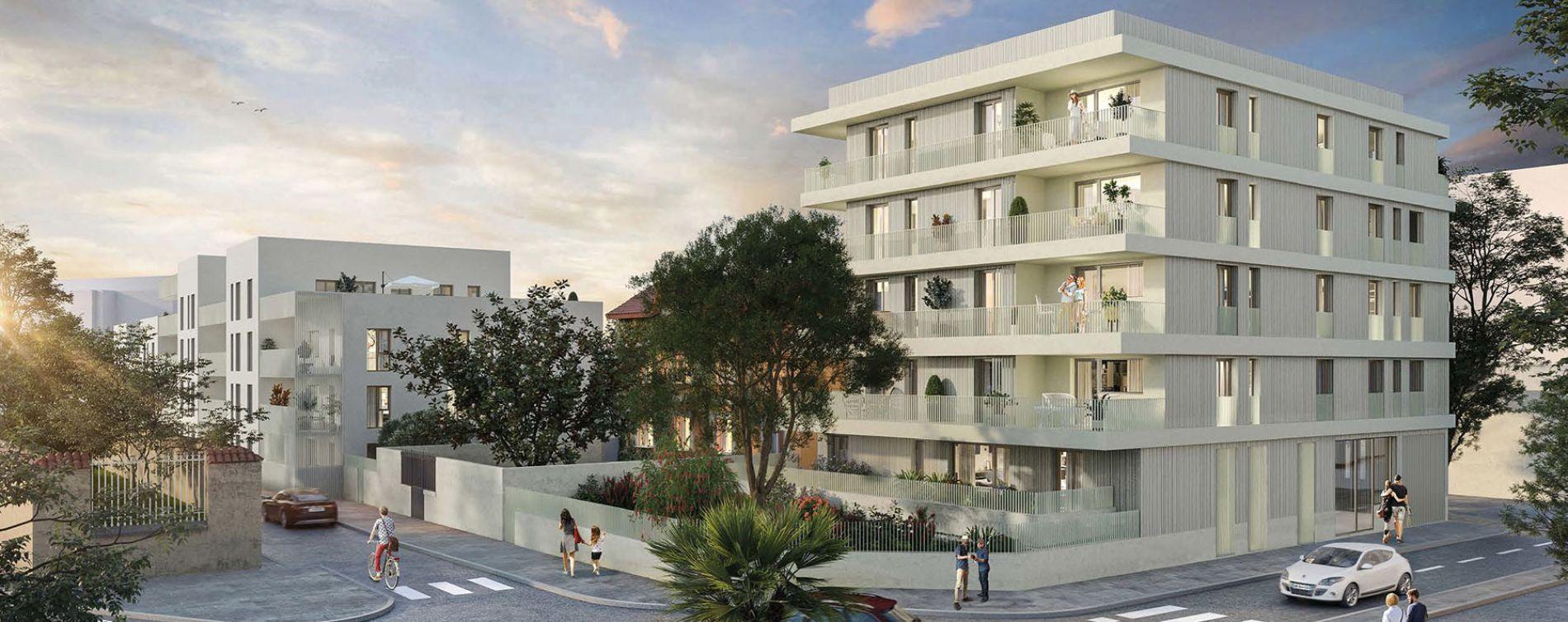 Villefranche-sur-Saône : programme immobilier neuve « Nuance » en Loi Pinel