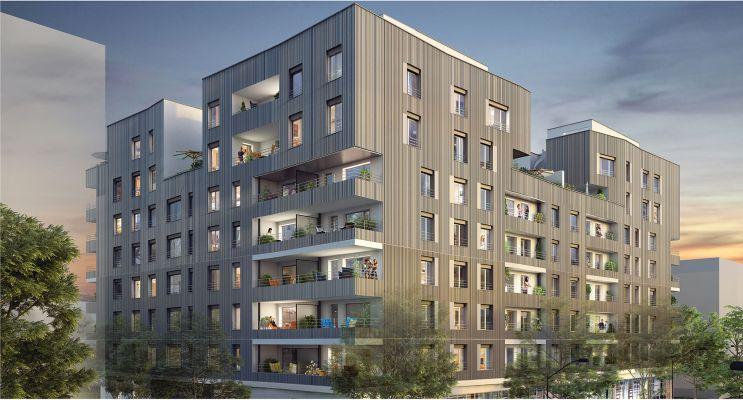 Photo du Résidence « Arch » programme immobilier neuf à Villeurbanne
