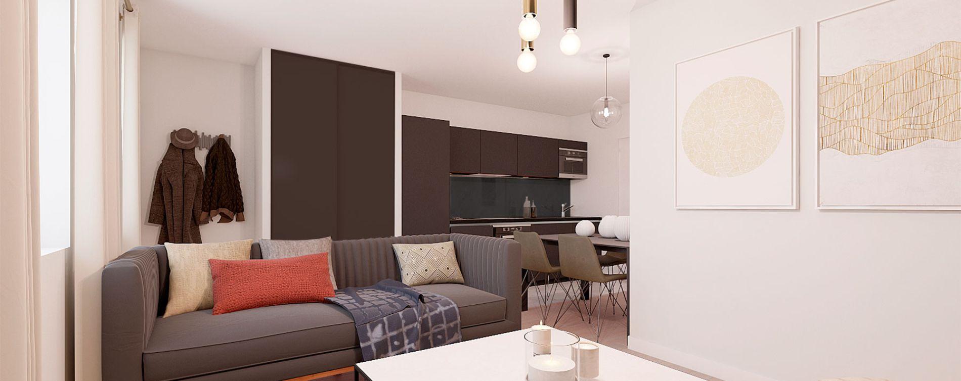 Villeurbanne : programme immobilier à rénover « Blum Médipôle » en Loi Pinel ancien (2)