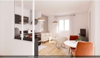 Villeurbanne programme immobilier à rénover « Blum Médipôle » en Loi Pinel ancien  (4)