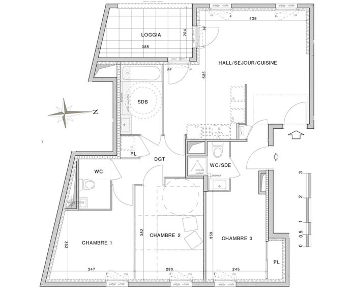 Plan T4 neuf à Villeurbanne de