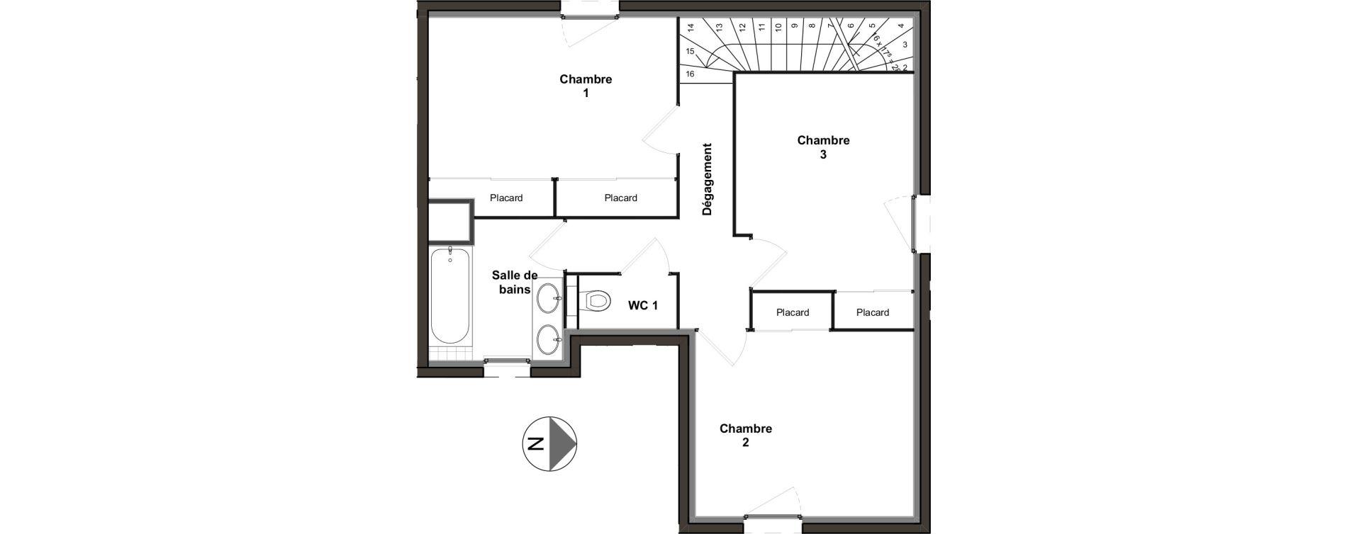 Appartement T4 de 95,17 m2 à Villeurbanne Ferrandière - maisons-neuves