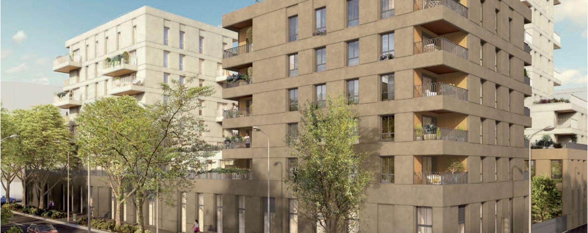 Villeurbanne : programme immobilier neuve « Crescendo »